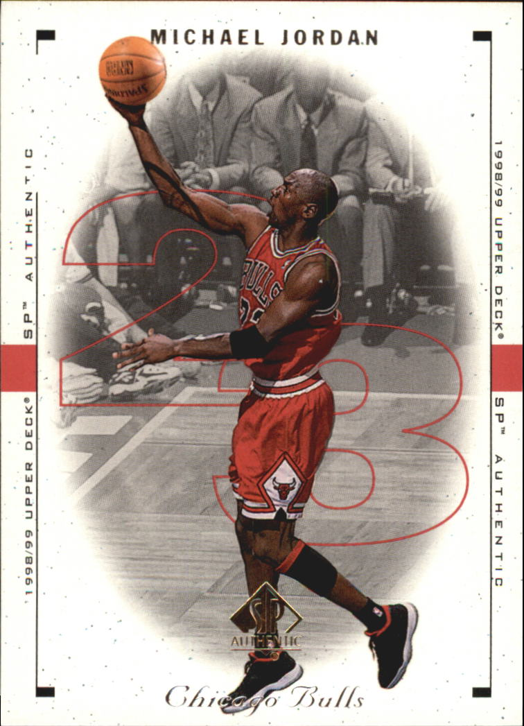 1998-99 SP Authentic #8 Michael Jordan