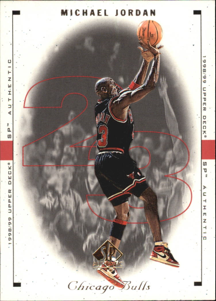 1998-99 SP Authentic #10 Michael Jordan front image