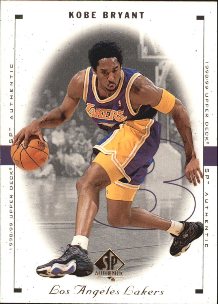 1998-99 SP Authentic #44 Kobe Bryant