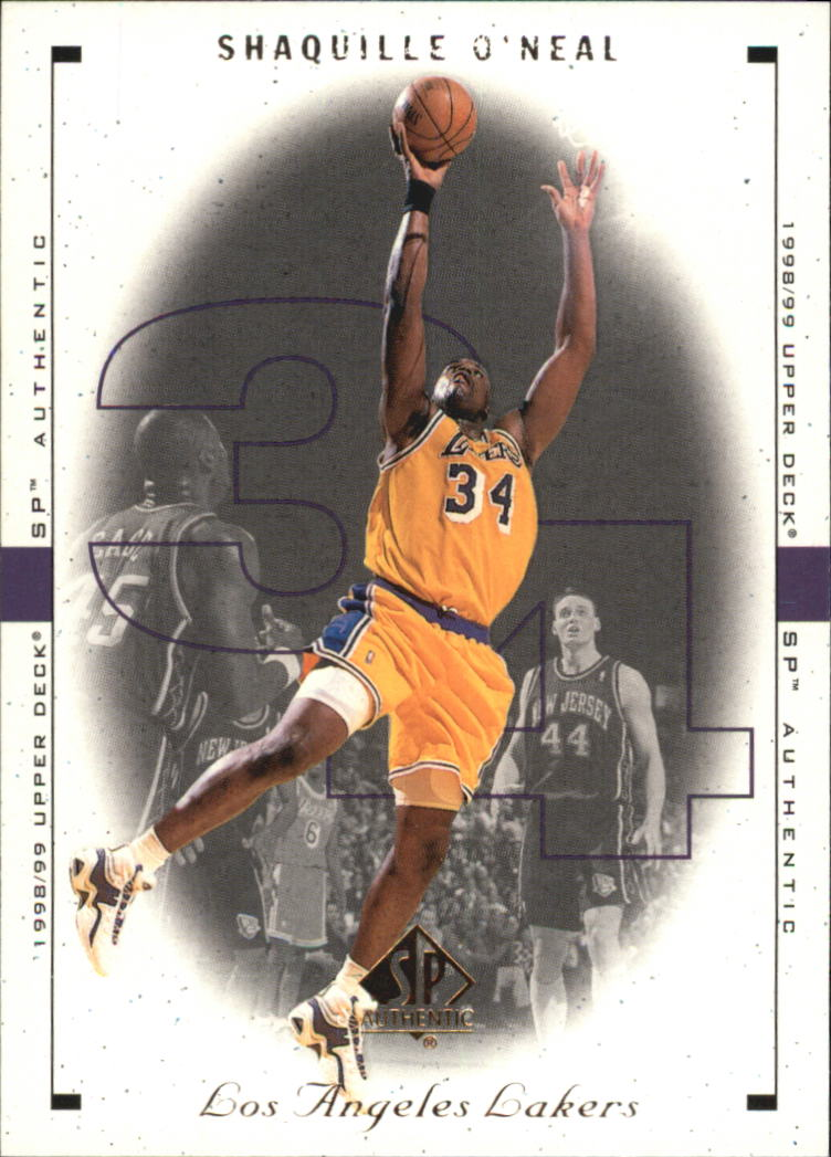 1998-99 SP Authentic #46 Shaquille O'Neal