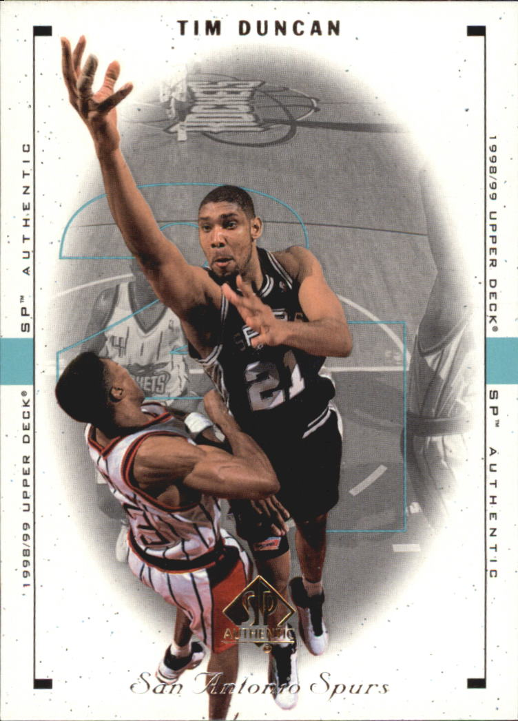 1998-99 SP Authentic #75 Tim Duncan
