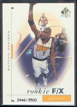 1998-99 SP Authentic #94 Antawn Jamison RC