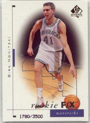 1998-99 SP Authentic #99 Dirk Nowitzki RC
