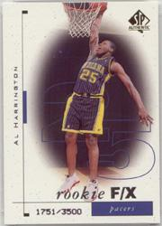 1998-99 SP Authentic #113 Al Harrington RC