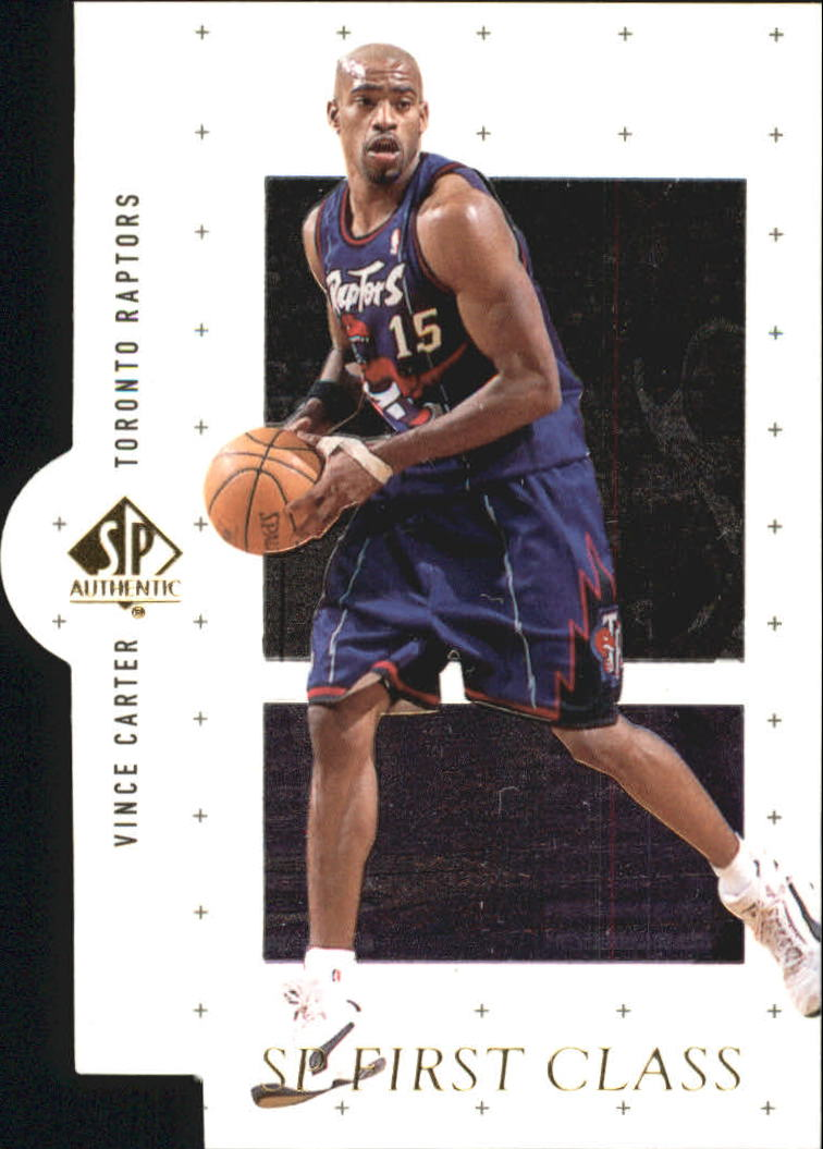 1998-99 SP Authentic First Class #FC27 Vince Carter