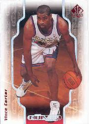 1998-99 SP Authentic NBA 2K #2K5 Vince Carter