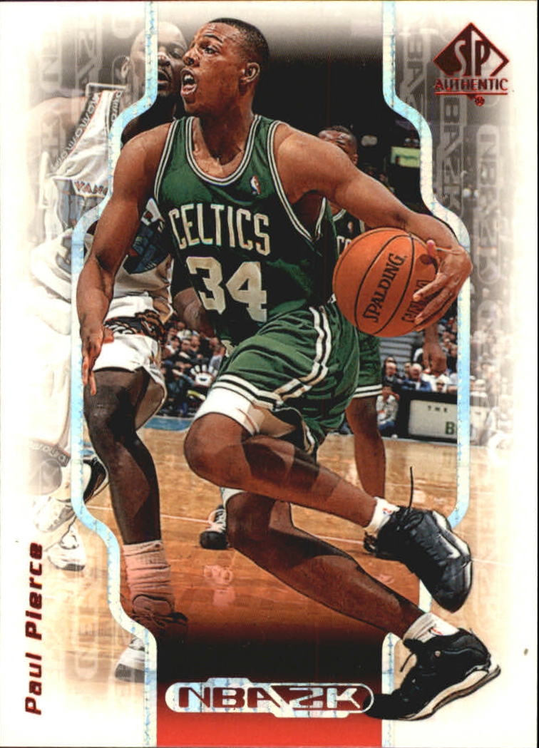 1998-99 SP Authentic NBA 2K #2K10 Paul Pierce