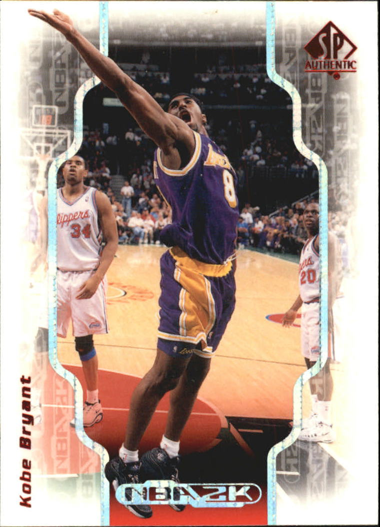 1998-99 SP Authentic NBA 2K #2K16 Kobe Bryant