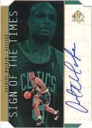 1998-99 SP Authentic Sign of the Times Gold #AW Antoine Walker