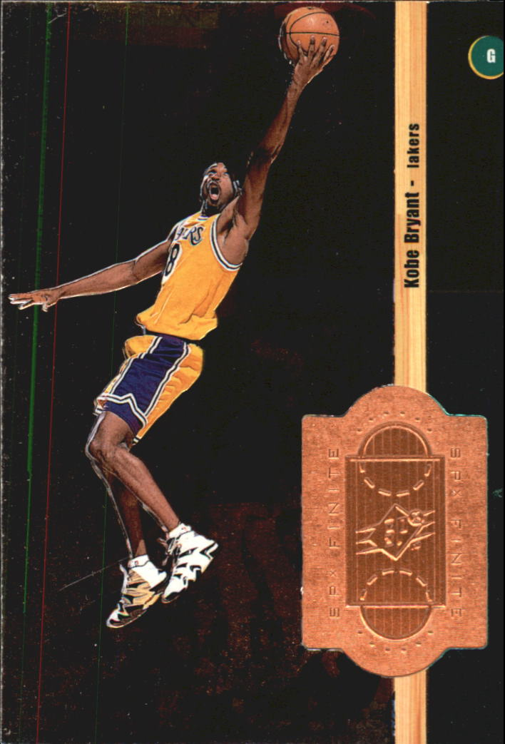 1998-99 SPx Finite #50 Kobe Bryant