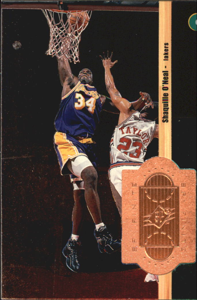 1998-99 SPx Finite #83 Shaquille O'Neal