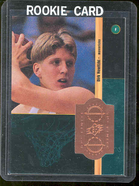 1998-99 SPx Finite #219 Dirk Nowitzki RC