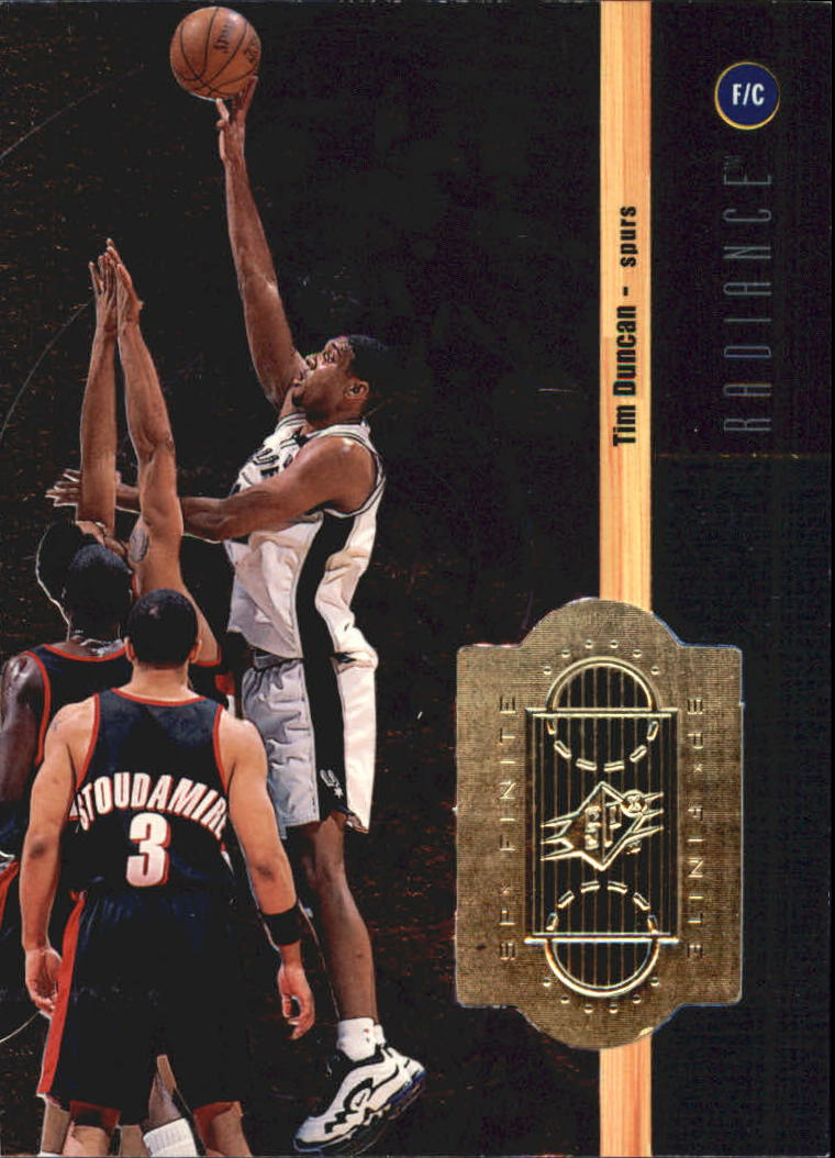 1998-99 SPx Finite Radiance #68 Tim Duncan
