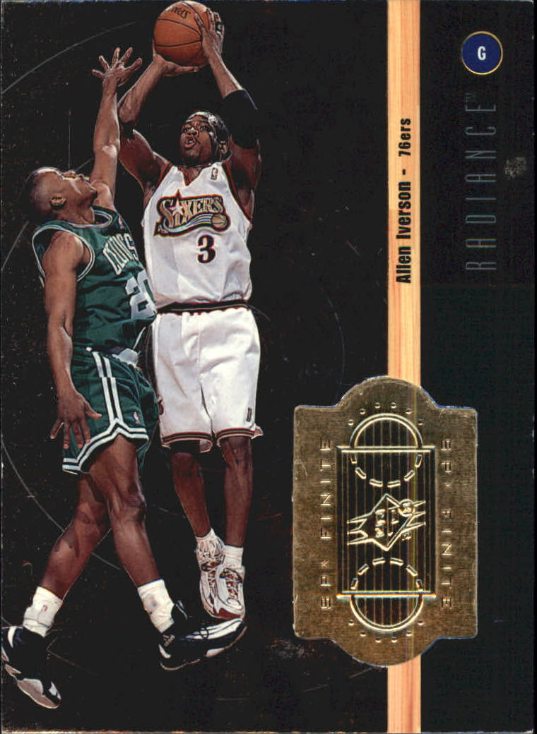 1998-99 SPx Finite Radiance #75 Allen Iverson
