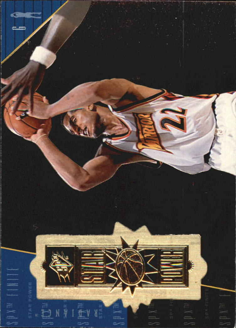 1998-99 SPx Finite Radiance #117 Jim Jackson SP