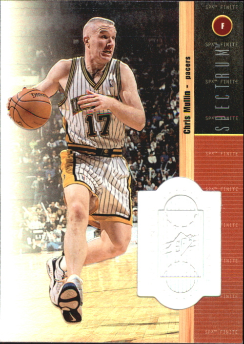 1998-99 SPx Finite Spectrum #10 Chris Mullin