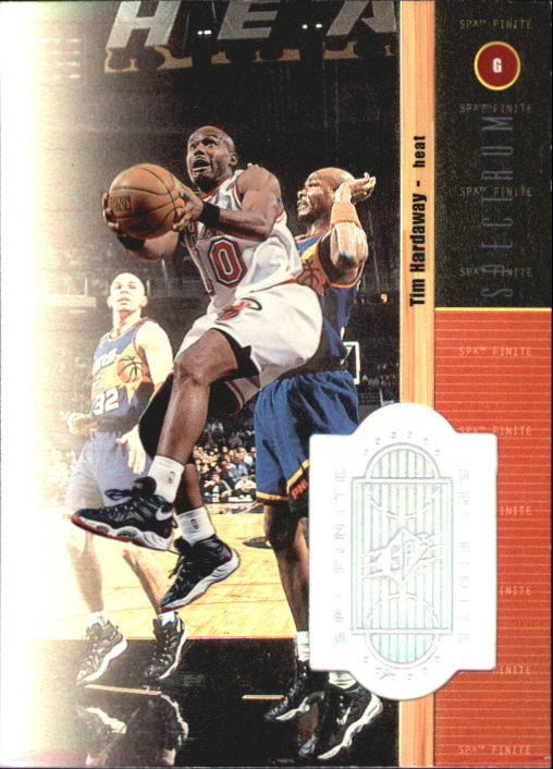 1998-99 SPx Finite Spectrum #24 Tim Hardaway