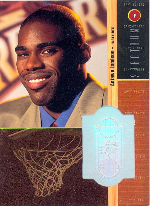 1998-99 SPx Finite Spectrum #214 Antawn Jamison