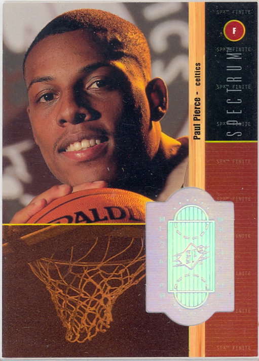 1998-99 SPx Finite Spectrum #220 Paul Pierce