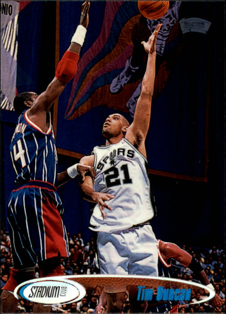 1998-99 Stadium Club #148 Tim Duncan