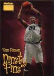 1998-99 SkyBox Premium #206 Tim Duncan NF