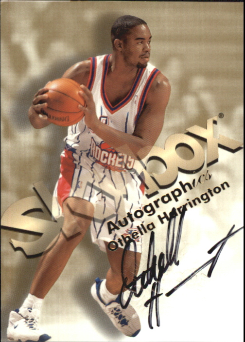 1998-99 SkyBox Premium Autographics #51 Othella Harrington