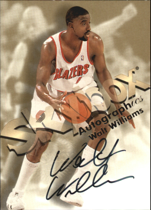 1998-99 SkyBox Premium Autographics #138 Walt Williams