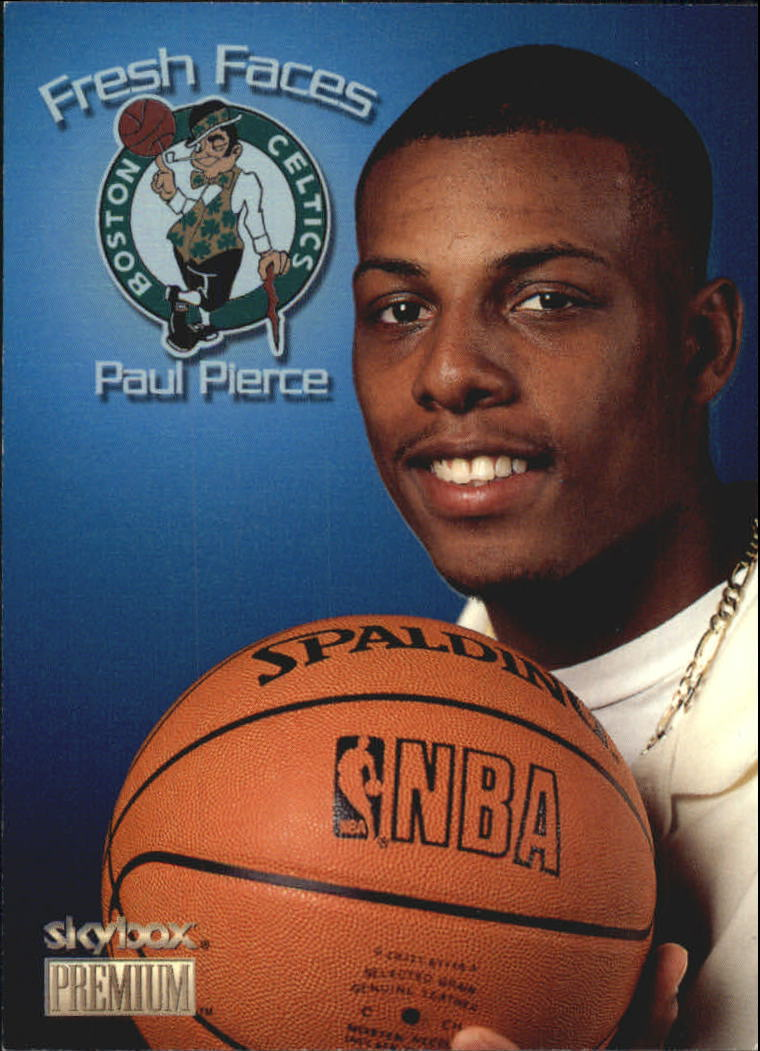 1998-99 SkyBox Premium Fresh Faces #8 Paul Pierce