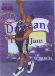 1998-99 SkyBox Premium That's Jam #1 Tim Duncan