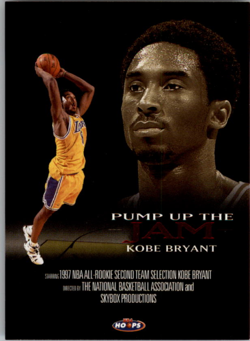 1998-99 Hoops Pump Up The Jam #4 Kobe Bryant