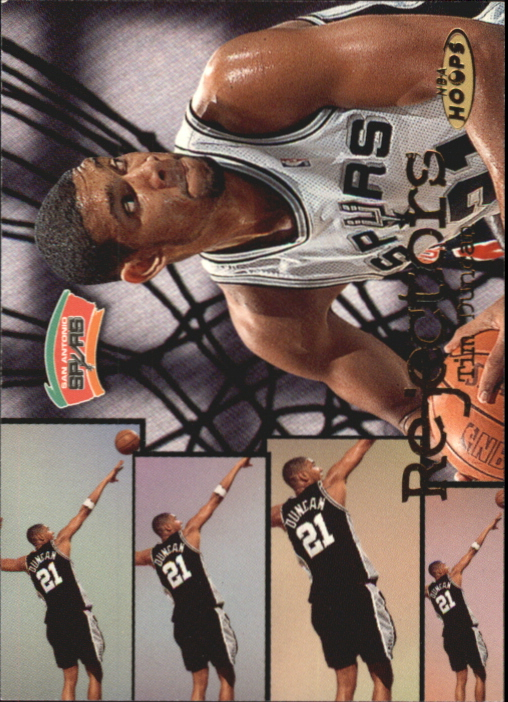 1998-99 Hoops Rejectors #4 Tim Duncan