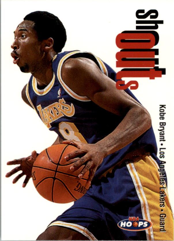 1998-99 Hoops Shout Outs #21 Kobe Bryant