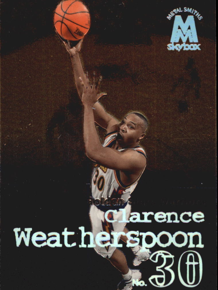 1998-99 SkyBox Molten Metal #28 Clarence Weatherspoon