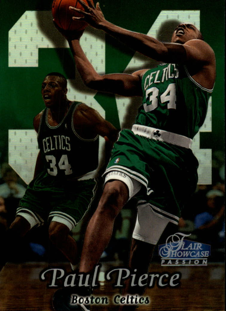 1998-99 Flair Showcase Row 2 #29 Paul Pierce