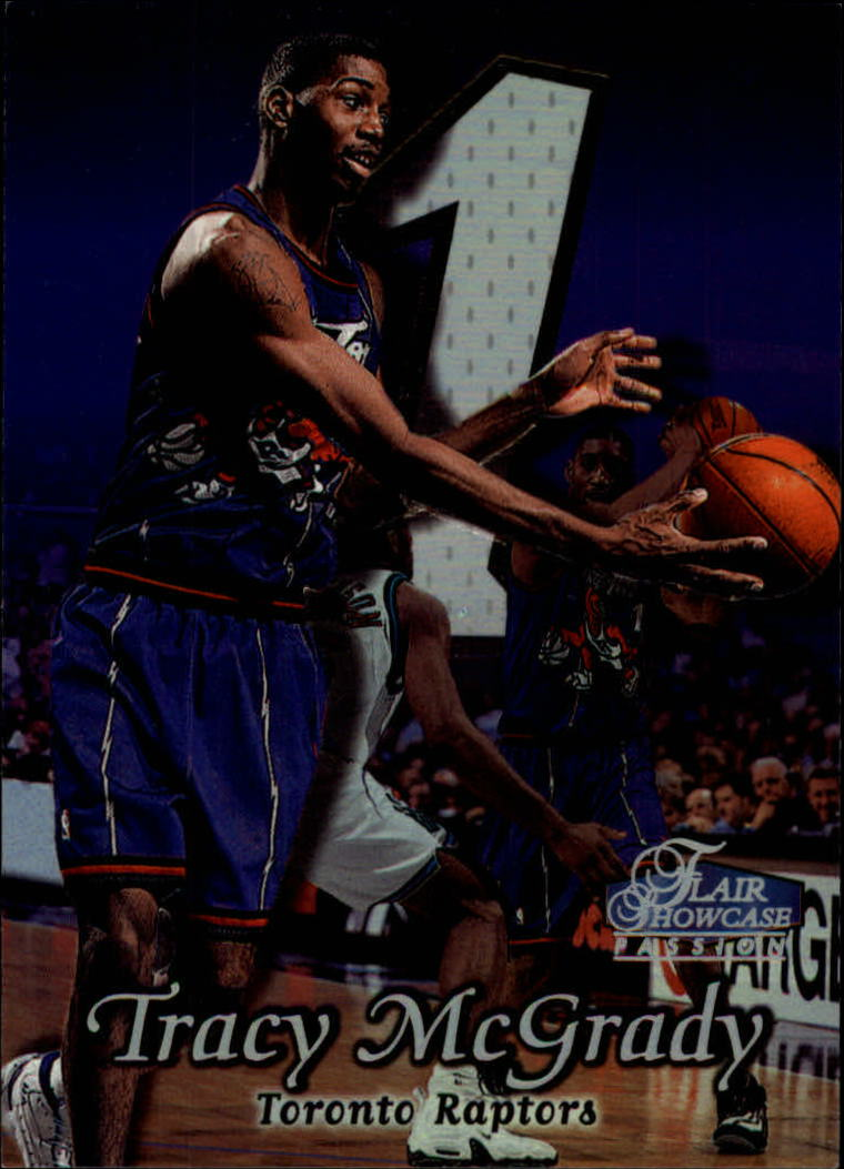1998-99 Flair Showcase Row 2 #56 Tracy McGrady