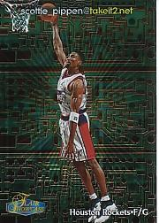 1998-99 Flair Showcase takeit2.net #1 Scottie Pippen