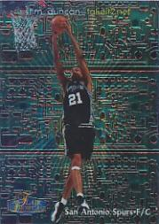 1998-99 Flair Showcase takeit2.net #2 Tim Duncan