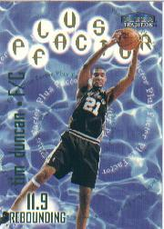 1998-99 Fleer #141 Tim Duncan PF