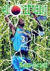 1998-99 Fleer Electrifying #2 Kevin Garnett