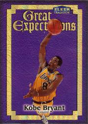 1998-99 Fleer Great Expectations #3 Kobe Bryant
