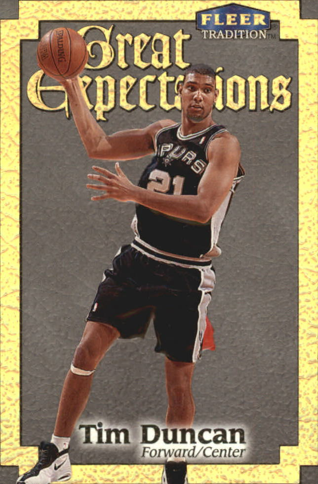 1998-99 Fleer Great Expectations #4 Tim Duncan