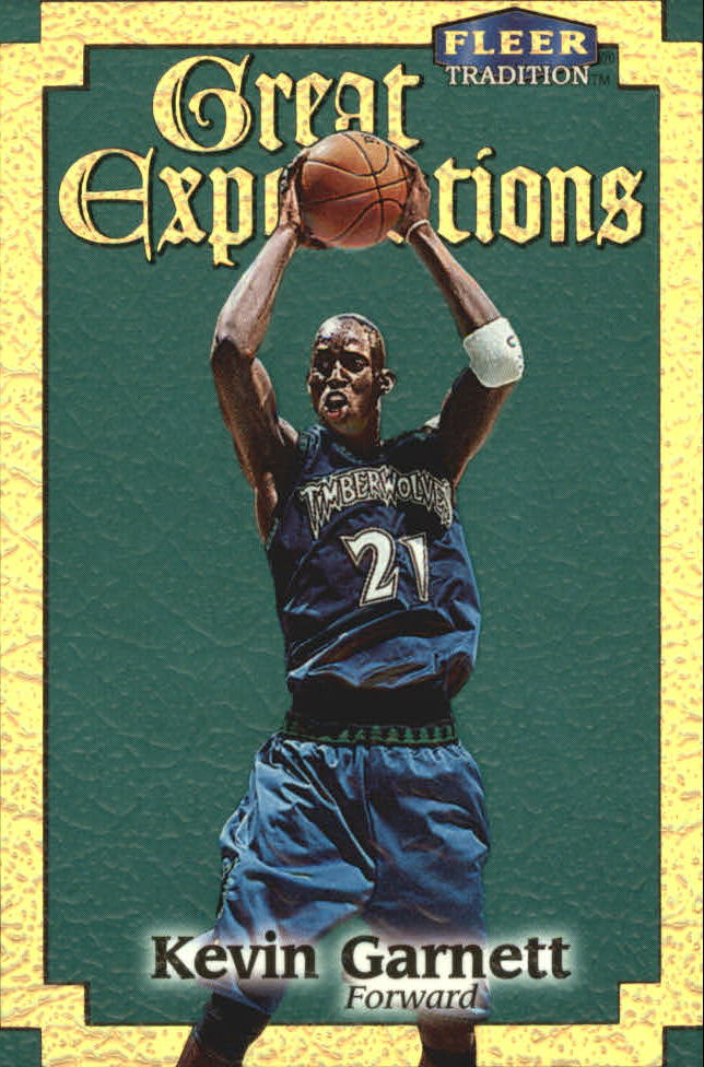 1998-99 Fleer Great Expectations #5 Kevin Garnett