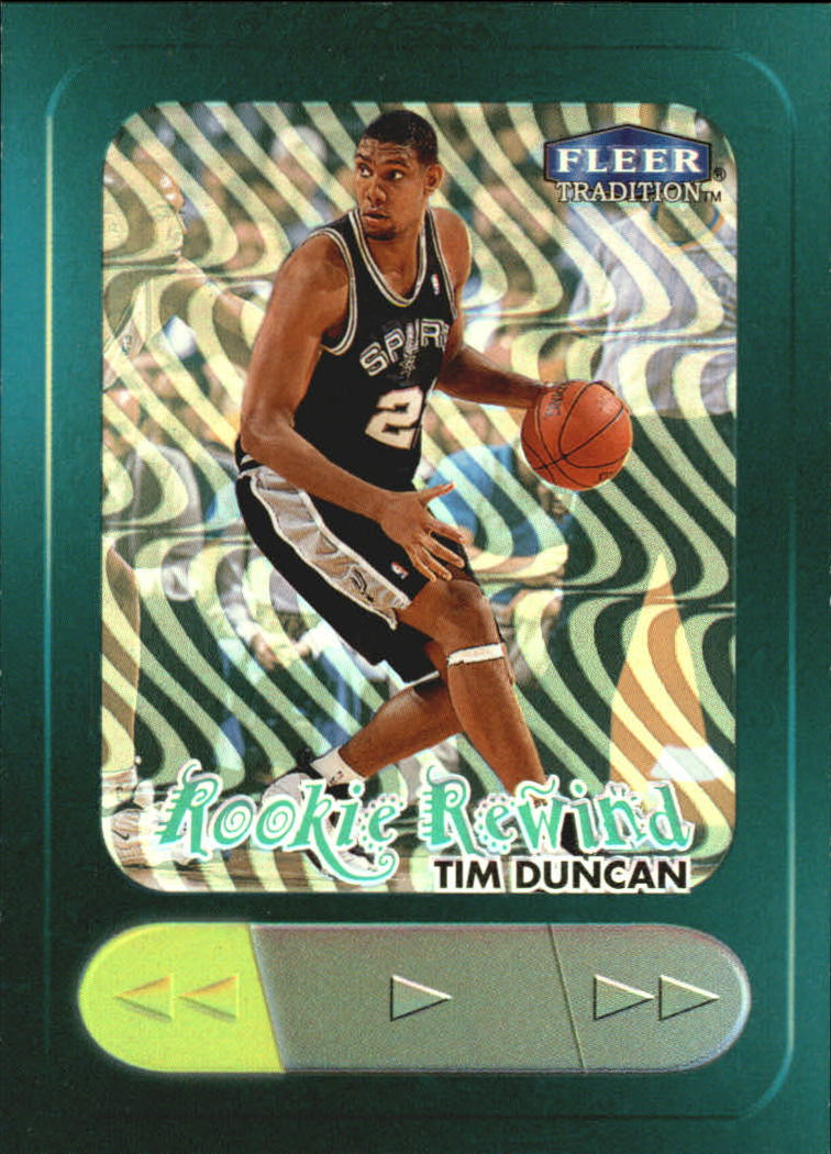 1998-99 Fleer Rookie Rewind #2 Tim Duncan