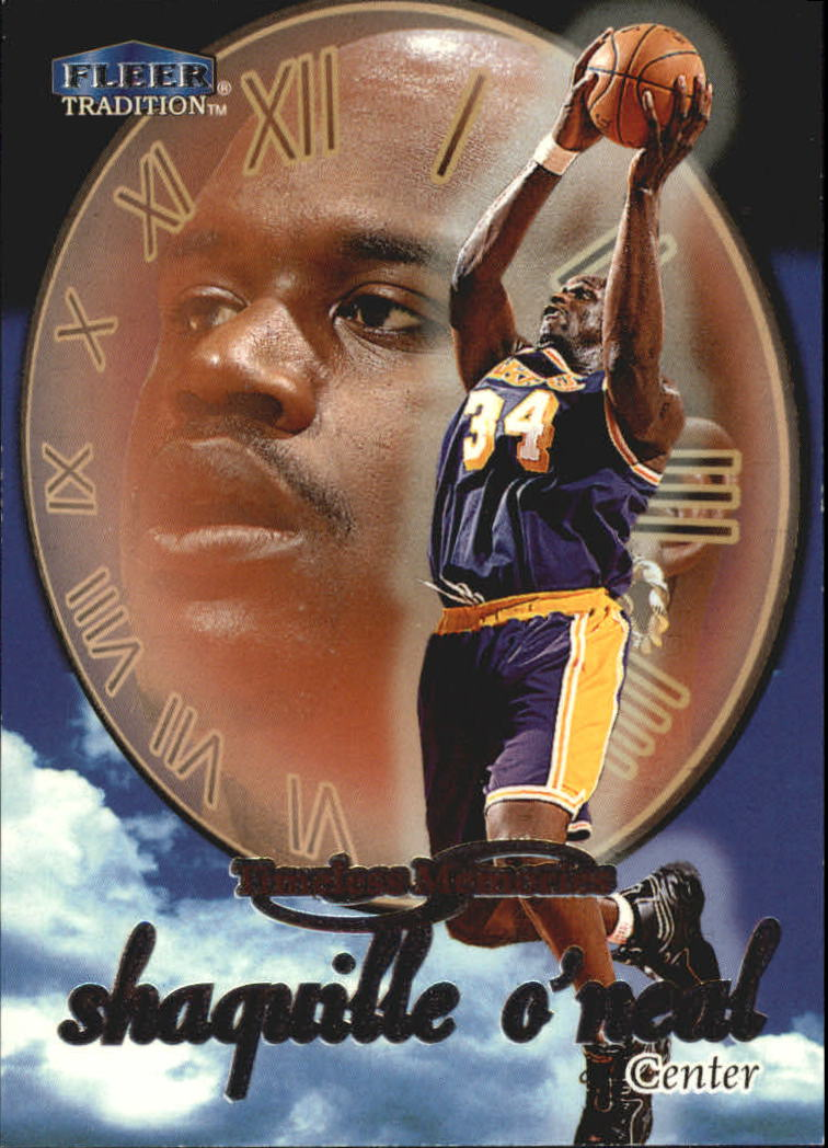 1998-99 Fleer Timeless Memories #6 Shaquille O'Neal