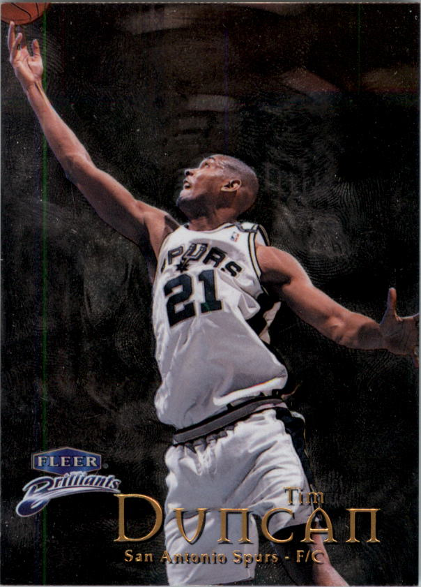 1998-99 Fleer Brilliants #1 Tim Duncan