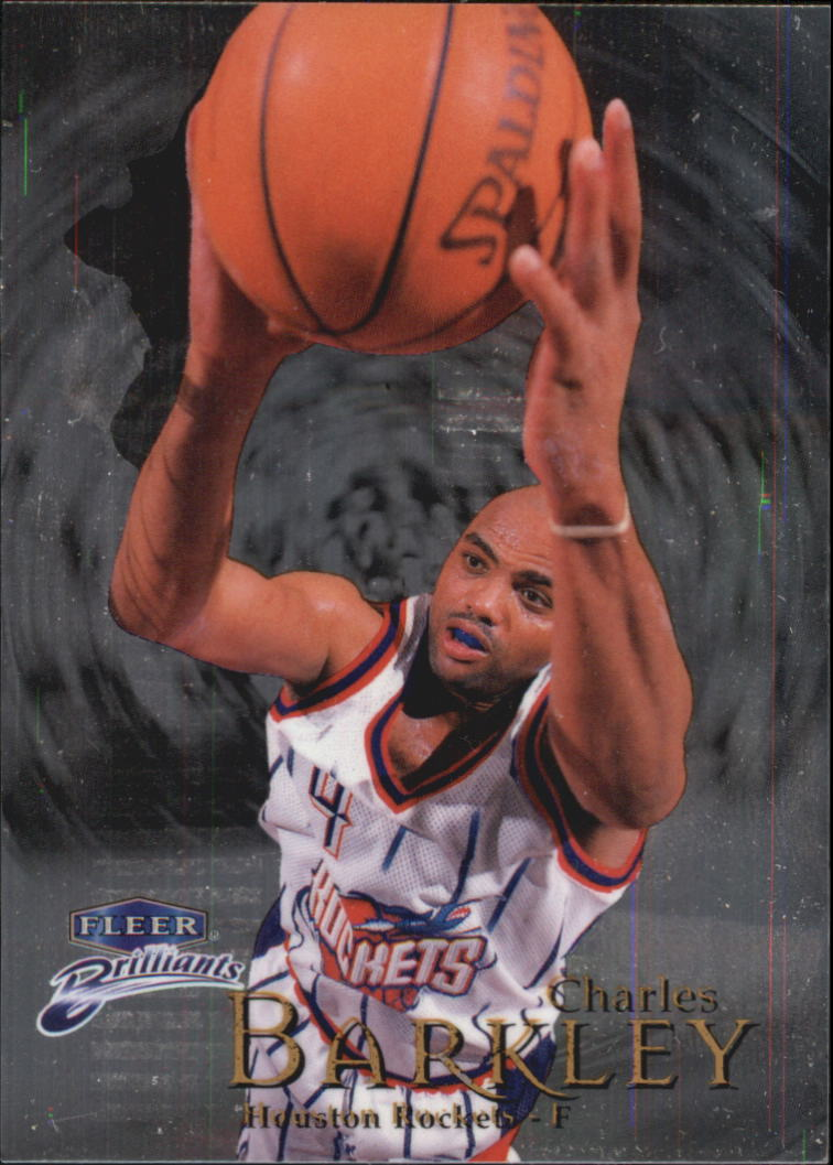 1998-99 Fleer Brilliants #4 Charles Barkley
