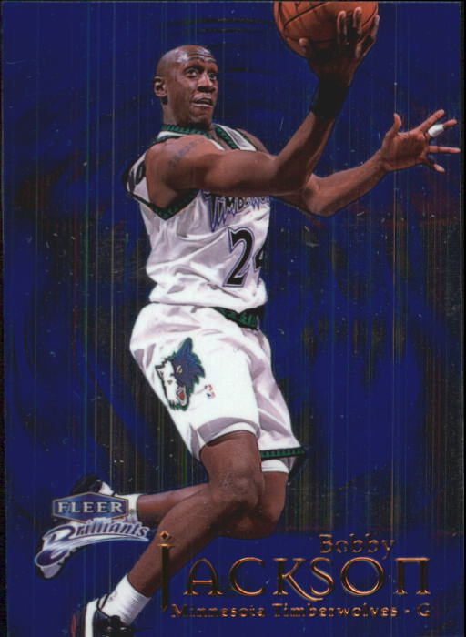 1998-99 Fleer Brilliants #54 Bobby Jackson