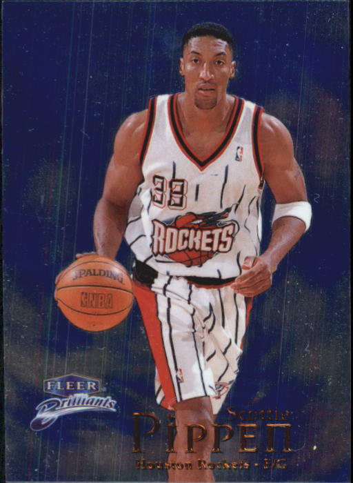 1998-99 Fleer Brilliants #60 Scottie Pippen