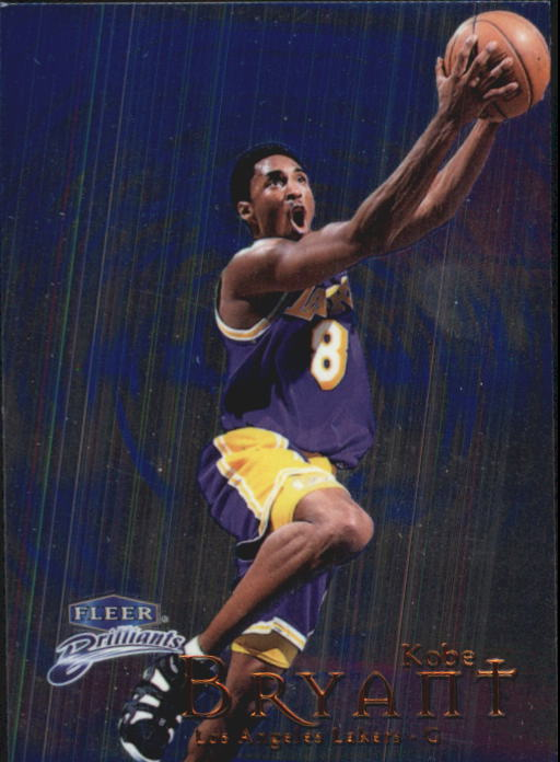 1998-99 Fleer Brilliants #70 Kobe Bryant