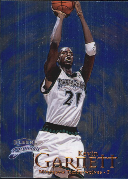 1998-99 Fleer Brilliants #80 Kevin Garnett